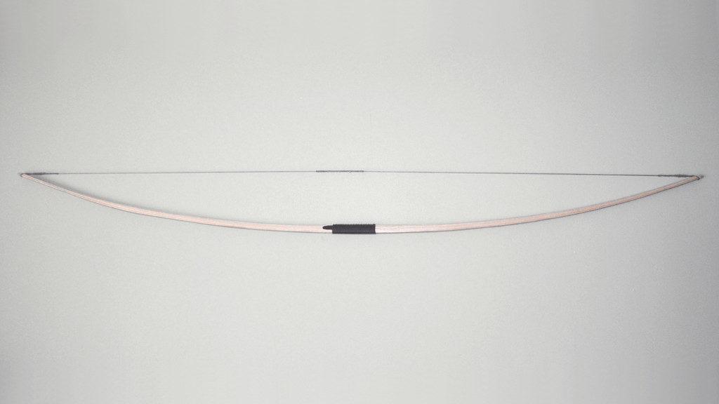 Longbow drewniane gryfy