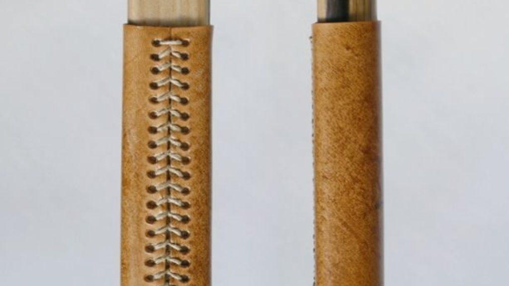 Longbow Ragnar skórzana oprawa